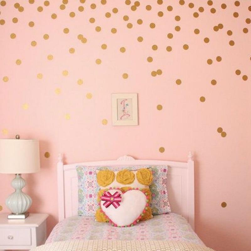 Modern Polka Dots Remove Wall Sticker Vinyl Wall Ars