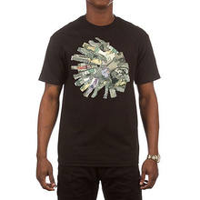 878d8ccd3 Hustle Gang Men's Currency T Shirt Black Skate Streetwear Clothing Apparel  Pride Of The Creature T-Shirts