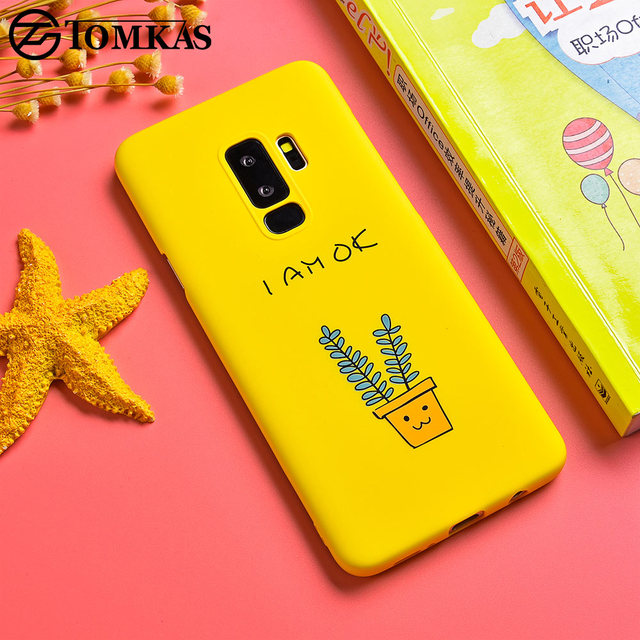 online store 7de13 0b560 US $2.12 |Tomkas Cool Ultra Thin Hard PC Case For Samsung Galaxy S9 Plus  Case Cute Fashion Pattern Cover For Samsung S9 S9 Plus Case Coque-in Fitted  ...
