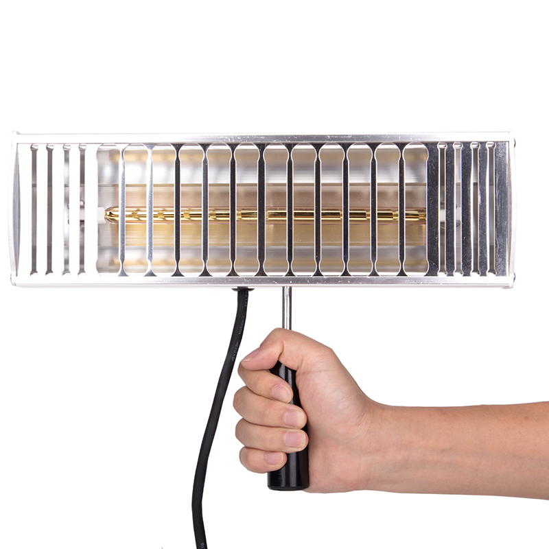 1000W Hand Held Infrared Spray Paint Heating Curing Lamp Baking Booth Heater Car Painting Equipment The Lamp of The Lacquer 220V цена