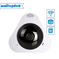 Panoramic WIFI Camera HD 960P Wireless VR 3D Panorama IP Camera P2P Security Wi Fi Smart