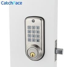 Электронный цифровой дверной замок, смарт замок с клавиатурой, интеллектуальный дешевый кодовый дверной замок, высокобезопасный сейф с одним зажимом