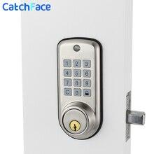 Fechadura esperta eletrônica do armário do teclado do fechamento da porta de digitas, cofre de alta segurança barato inteligente do fechamento da porta do código com único deadbolt