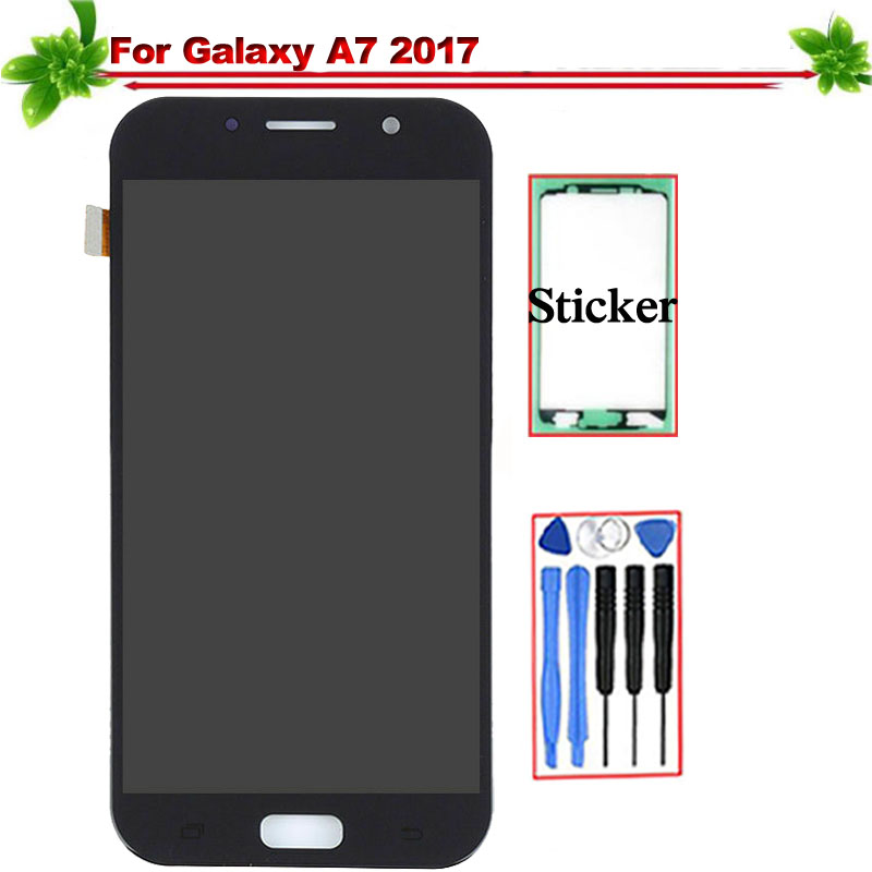 for Samsung Galaxy A7 2017 A720 LCD Display Touch Screen Digitizer Assembly Replacement for Galaxy A7 2017 A720F A720M Lcd Oledfor Samsung Galaxy A7 2017 A720 LCD Display Touch Screen Digitizer Assembly Replacement for Galaxy A7 2017 A720F A720M Lcd Oled