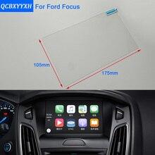 QCBXYYXH Para Ford Focus 8 polegada Car Styling Navegação GPS Película Protetora de Vidro Tela Painel Display Película Protetora