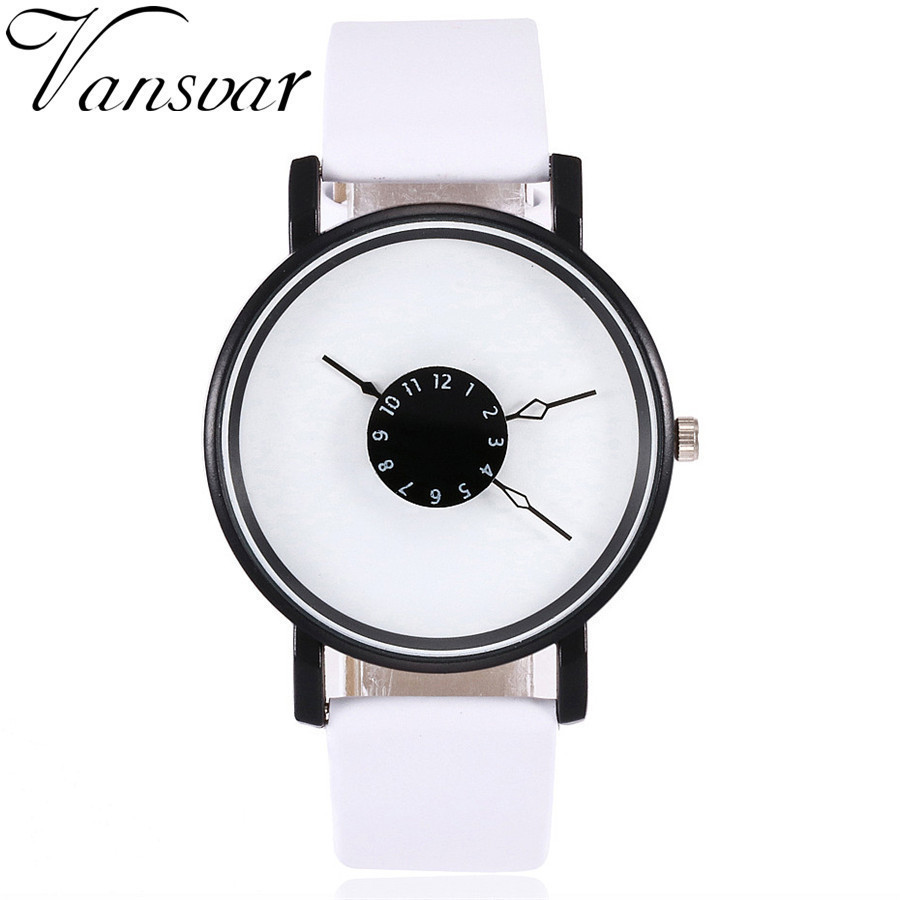 wristwatch hit watch mens enmex for quartz image number watches design white blackand alternative simple changeable product creative colour products fashion