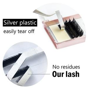 Image 5 - 15 cases/lot CC Curl Cilia  natural individual eyelash extensions make up tools faux premium mink false eyelash luxurious box