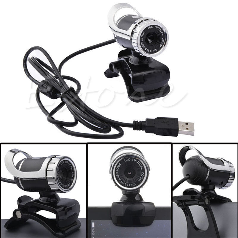 360 Degree USB 2 0 Cable 50 Megapixel HD WebCam Web Camera With Microphone for Desktop