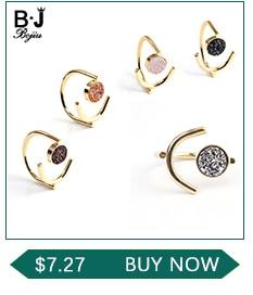 BOJIU многоцветные Кристальные браслеты для женщин золотые акриловые медные бусины розовый белый черный серый женский браслет с кристаллами BC226