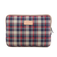 Plaid Notebook Bag 10 11 12 14 15.6 Laptop Bag for MacBook Air 13 ipad Notebooks Cover Samsung Np530u3c Xiaomi Macbook Accessory