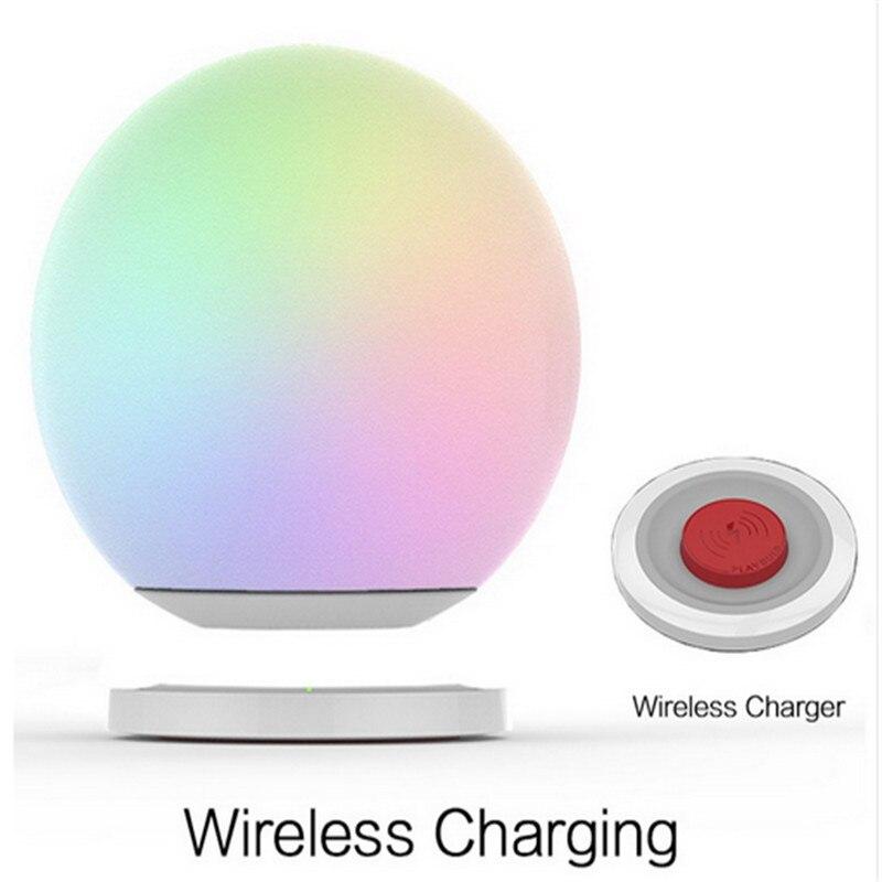 Playbulb Intelligents Sphère Éclairage LED Changement de Couleur Dimmable Verre Appuyez Sur Modifier Orb Lumière Lampadaire Pour iPhone
