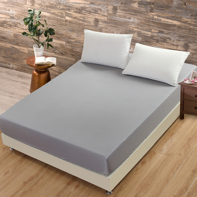 Elastic Bedspread Hotel Mattress Cover Solid White non-slip bedspread Protector Fitted Sheet Plain Bedding Aloe Cotton Mattress