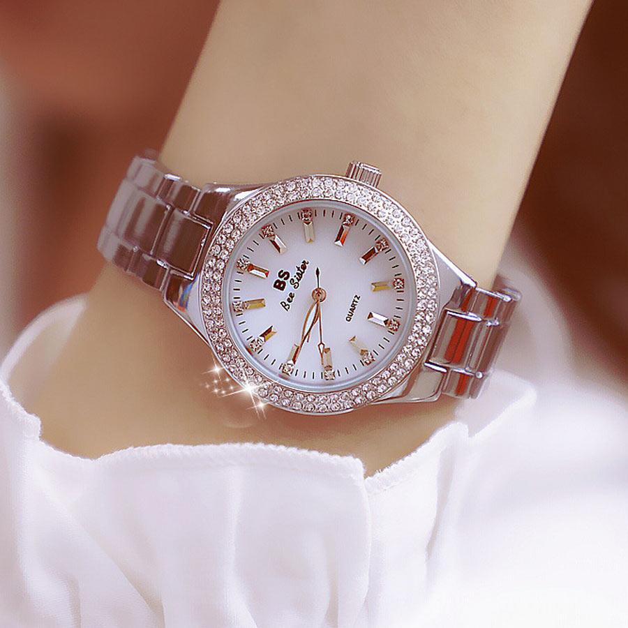 2018 Wrist Watches For Women Top Brand Luxury Watch Women Waterproof Fashion Ladies Watch Quartz Silver Bracelet Women Watches