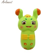 2019 Mini Adorable oruga Super lento aumento niños diversión Stress Reliever juguete regalo 19Mar08 P40(China)