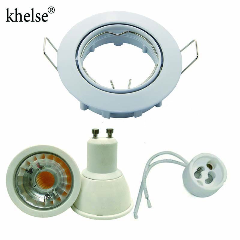 embedded LED Dimbare Downlight COB 5 W 12 V 110 V 220 V led spot GU10 - LED-Verlichting