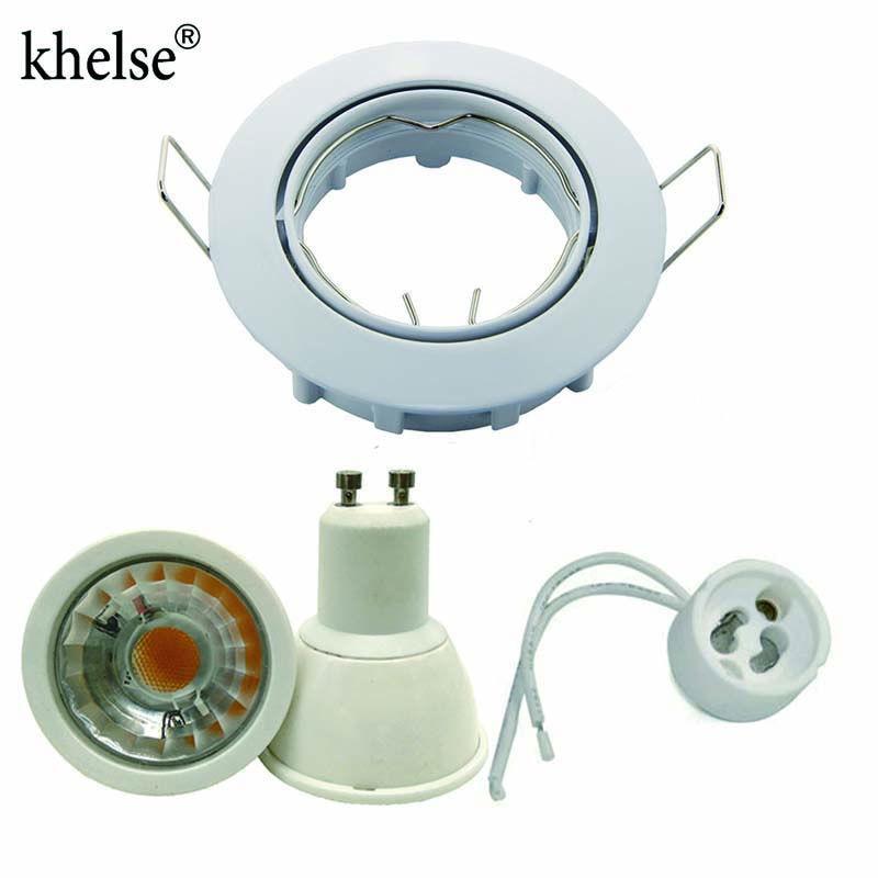 embedded led dimmable downlight downlight cob 5w 12v 110v 220v led led spotlight gu10. Black Bedroom Furniture Sets. Home Design Ideas