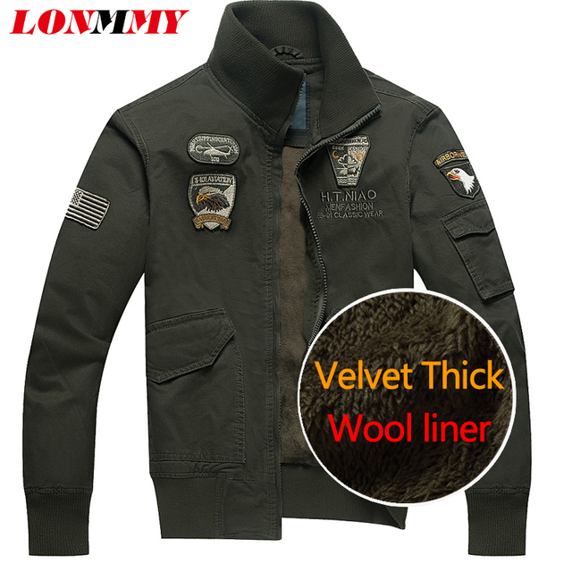 Aliexpress.com : Buy LONMMY 2017 Winter jacket men cotton Wool ...
