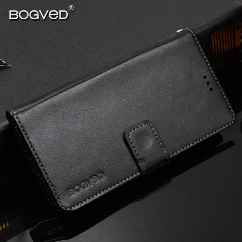 BOGVED Cases For Vodafone Smart X9 E9 V8 Leather Protector Case VFD710 Back Cover Capa For Vodafone Smart V8 Cases Flip Silicone