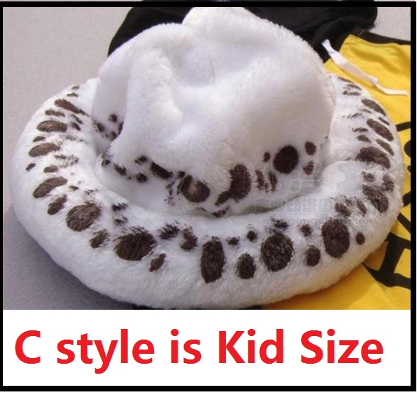 Kid Size One Piece Law Hats