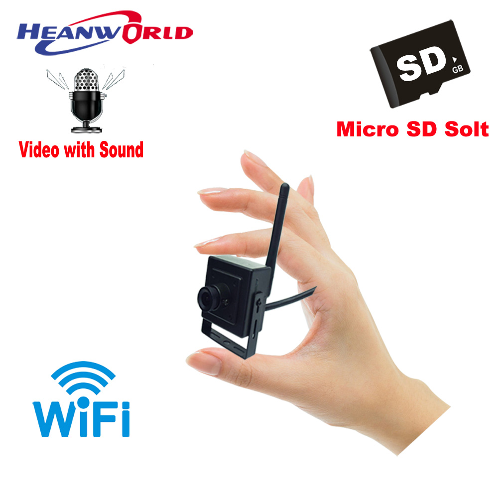 Mini IP Camera WiFi 720P Wireless Security Camera Audio CamHi App CCTV Surveillance Cam Support Micro SD Card Recording PC ONVIF wireless security cam 960p hd video surveillance recording streamed on smart devices 2 way audio surveillance nanny or pet cam