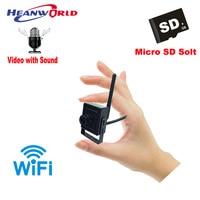 Mini IP Camera WiFi 720P Wireless Security Camera Audio CamHi App CCTV Surveillance Cam Support Micro SD Card Recording PC ONVIF