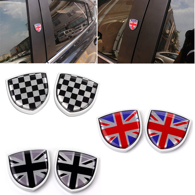 British Flag Stickers for Mini Cooper BMW Ford Fiesta Volkswagen Nissan Qashqai...