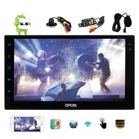 Free Dual Camera As Gifts Latest Android 6 0 Car Stereo With GPS Double Din Navigation