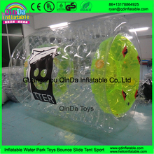 Hot sale and customized inflatable water roller for adults and children water walking roller ball