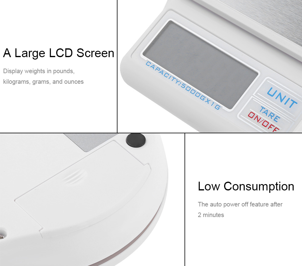 6 Arten von Einheitenumrechner bis zu 6.6lbs (3000 gramm ...
