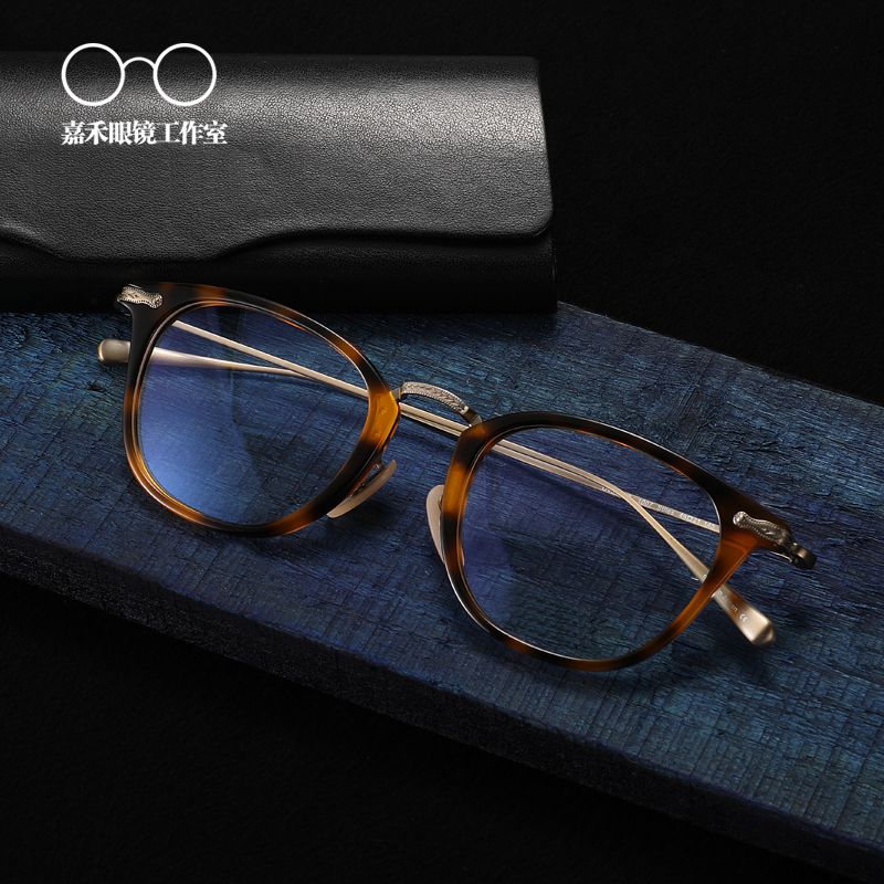 Ov5307 Titanium Glasses Frame Men Retro optical Frame Brand Eyeglasses for Women Titanium with Box