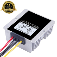 DC 12V 24V 36V (9.5V 40V) to 7.5V 25A 188W dc converter Waterproof DC DC buck output for car RoSH CE