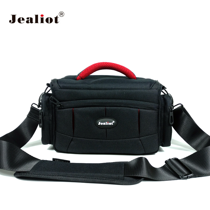 Jealiot dslr slr bag for Camera bag case insert photo shoulder bag digital Video lens for Canon 6d 7d 600d 60d nikon d5300 d7200 2018 jealiot waterproof camera bag dslr slr shoulder bag video photo bag lens case digital camera for canon nikon free shipping
