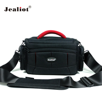 Jealiot dslr slr bag for Camera bag case insert photo shoulder bag digital Video lens for Canon 6d 7d 600d 60d nikon d5300 d7200