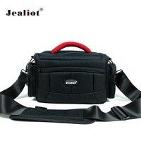 Jealiot dslr slr bag for Camera bag case insert photo shoulder bag digital Video lens for Canon 6d 7d 600d 60d nikon d5300 d7200