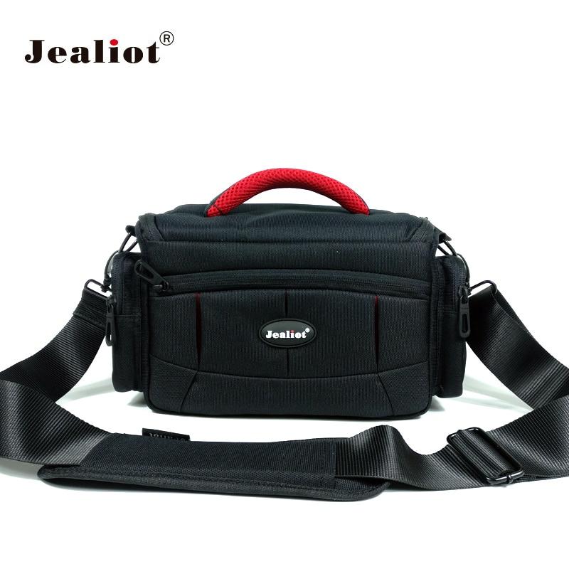 Jealiot sacchetto della cassa del sacchetto per la Macchina Fotografica dslr slr inserire foto borsa a tracolla digital Video lens per Canon 6d 7d 600d 60d nikon d5300 d7200