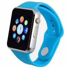 Relógio Relógio inteligente Com Slot Para Cartão Sim Empurre Mensagem Conectividade Bluetooth Telefone Android Melhor Do Que GT80 Smartwatch Relógio Dos Homens