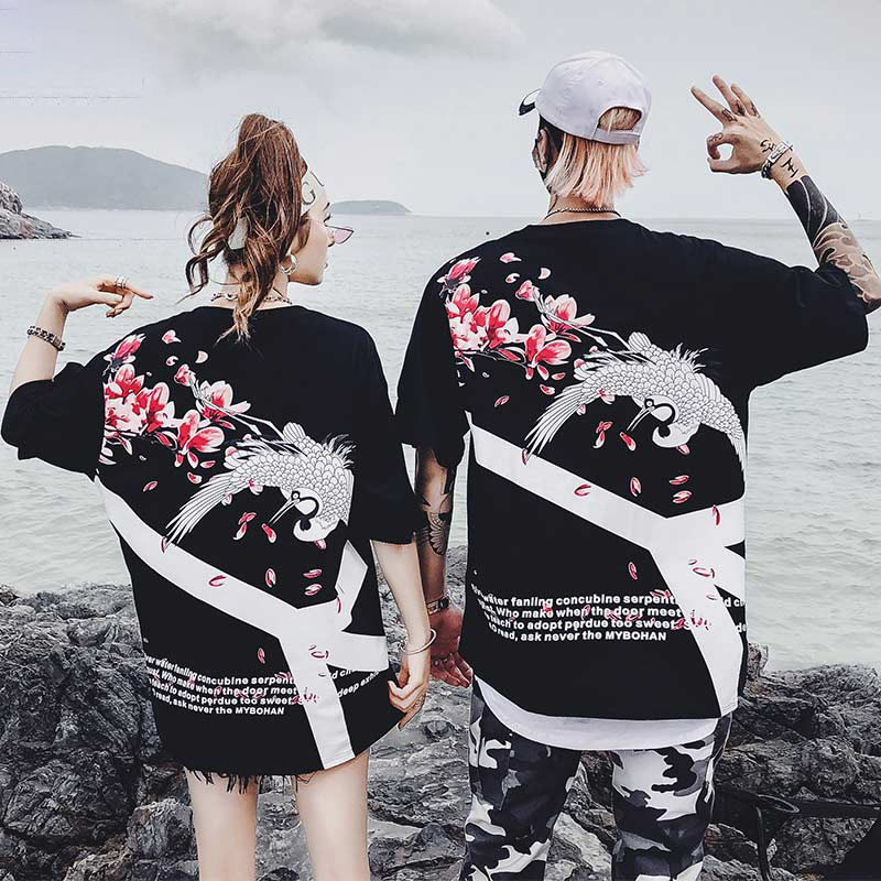 Samurai Crane Japanese Style Kimono Haori Men Women Cardigan Chinese Dragon Traditional Japanese Clothing Asian Clothes 9