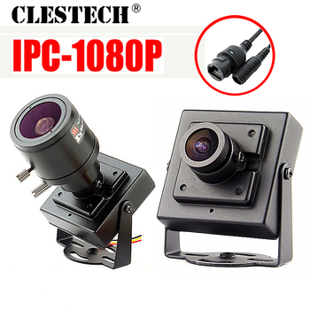 48VPOE HD CCTV digital Mini Metal iP Camera 1080P 720P 2.0mp Super Small P2P ONVIF Internal Micro video webcam Motion detecting