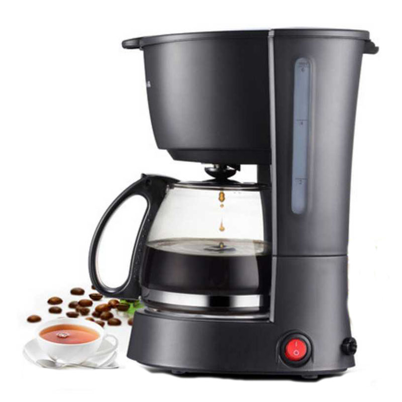Electric Coffee Maker machine household fully-automatic drip coffee maker 600ml tea coffee pot Coffee maker Machine 220V electric 120w coffee machine espresso americano coffee maker for household with 1 pcs coffee pot tea machine
