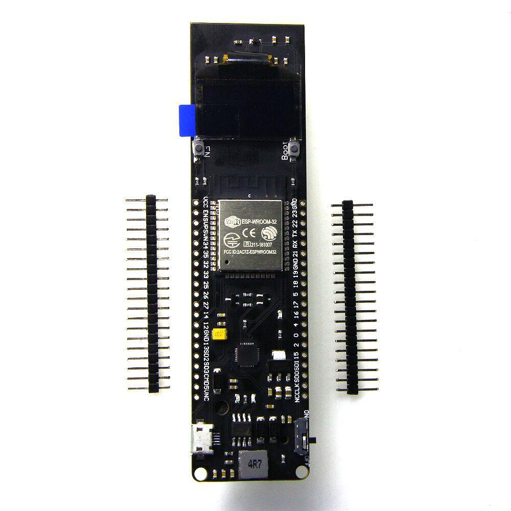 TTGO WiFi Bluetooth Battery Module 18650 ESP32 0.96 inch OLED Development ToolsTTGO WiFi Bluetooth Battery Module 18650 ESP32 0.96 inch OLED Development Tools