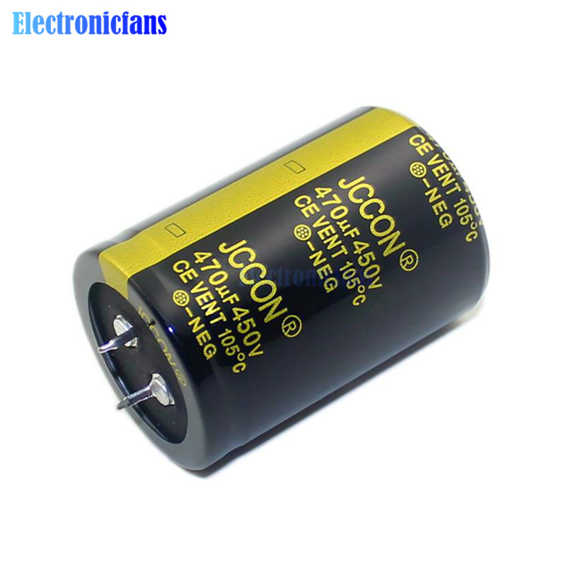 450V 470uF 35X50mm High Frequency Low ESR Aluminum Electrolytic Capacitor 450V470uF 35*50mm Through Hole Capacitor