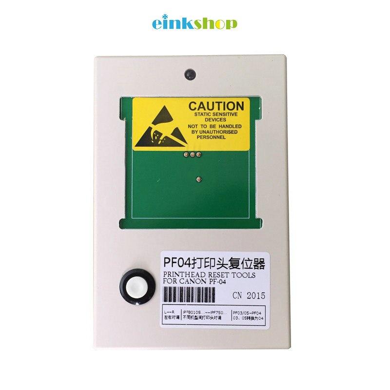 Для canon pf-04 печатающая головка resetter для Canon IPF650 IPF655 IPF680