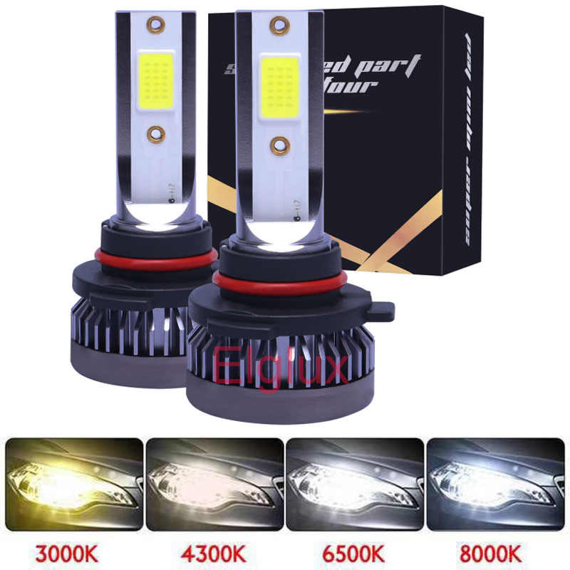 72W 12000LM H7 LED H1 H8 H11 LED Headlights 9005 HB3 Mini Bulbs 9012 9006 HB4 LED Lmaps For Car Auto Fog Lights With COB 12V