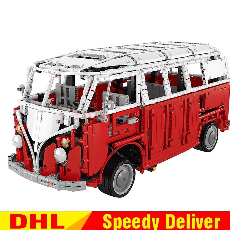 New LEPIN 20054 4237Pcs Technic Creator Camper Van car-styling Model Building Blocks Bricks lepinings Toys for children Gifts