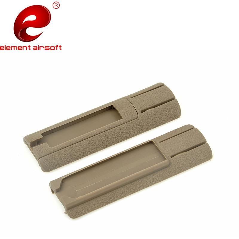 "2PCS//Pack Tactical 4.125/"" ITI Pocket Panel Remote Switch Rail Pads Set"