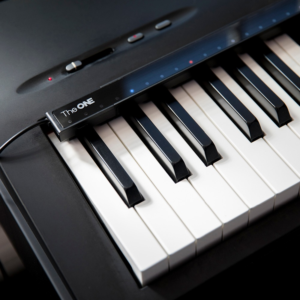 The ONE Piano Hi-Lite fit for 88 keys electronic keyboard digital acoustic piano smart device for learning piano strip piano books for the young musician