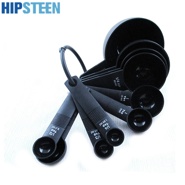 HIPSTEEN New High Quality 10Pcs a set Measuring Spoon Measuring Cup kitchen Baking Baking Utensil Set Measuring Scoop Tool