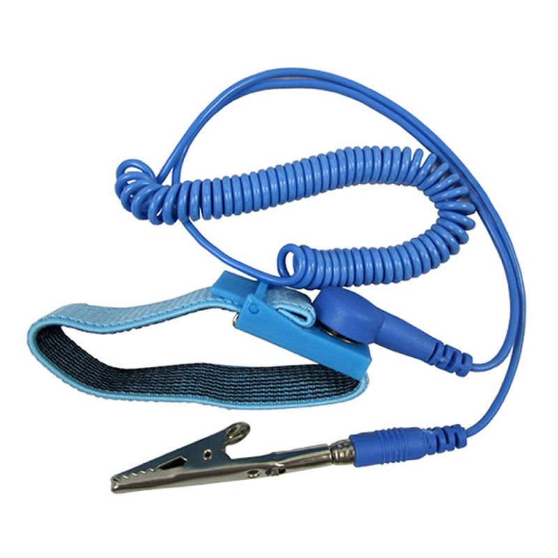 MENGS 10X Blue Discharge Anti-Static Anti Static Wrist Strap Grounding Band