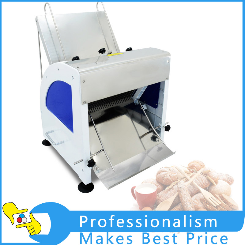250W Electric Commercial Bread Slicer 23 Slices  Loaf Toast Cutter Stainless Steel Bread Processing Machine 110V/220V pfzc k31 stainless steel silence sound 31 slices bread slicer for commercial use