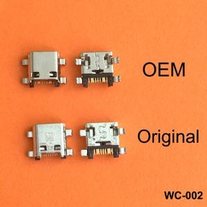 Image 1 - 100 ピース/ロットマイクロミニusb充電ポートジャックプラグソケットコネクタため首相G530 G530H G530F